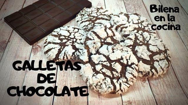 como preparar galletas de chocolate: Receta rápida, facil y sencilla.